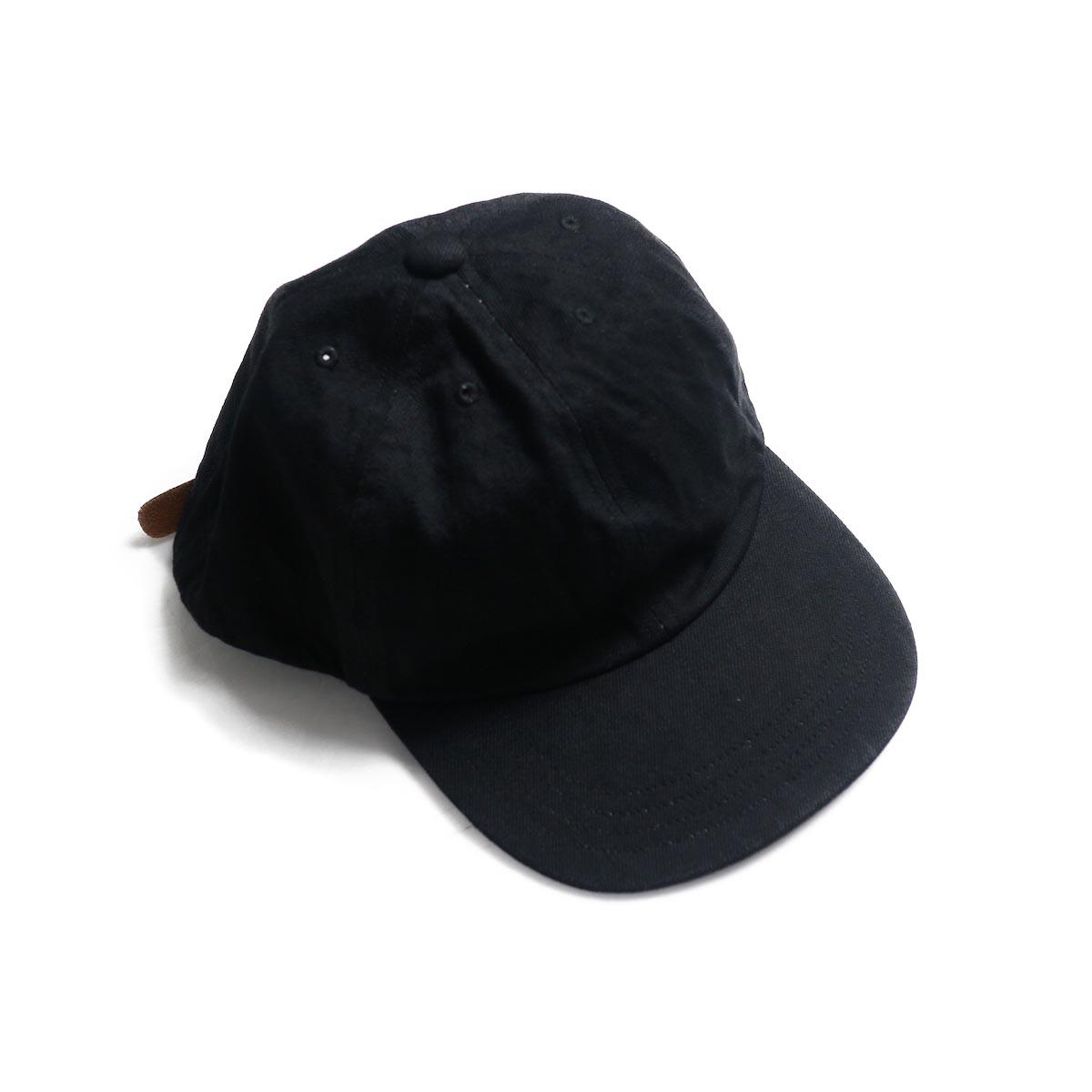 COMESANDGOES / Denim Cap (NO.14519) black