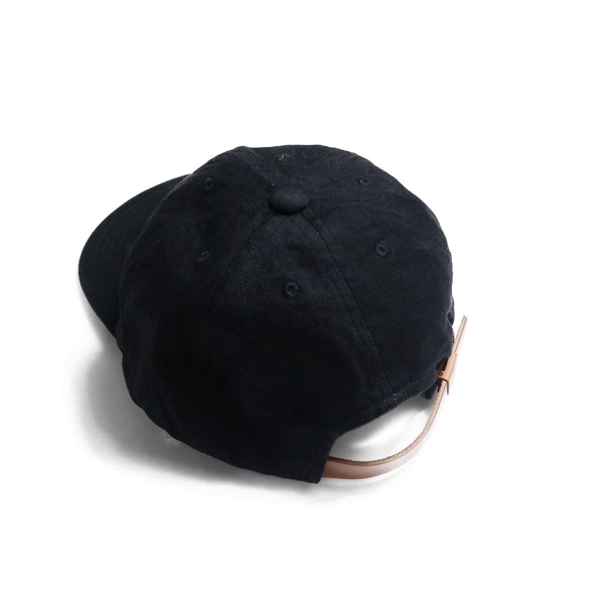 COMESANDGOES / Denim Cap (NO.14519) black アジャスター