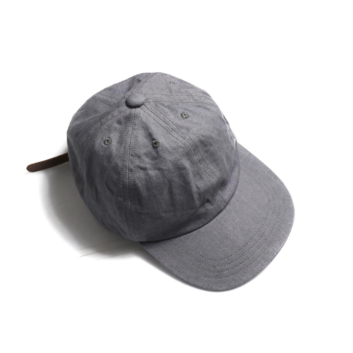 COMESANDGOES / Denim Cap (NO.14519) Light Gray