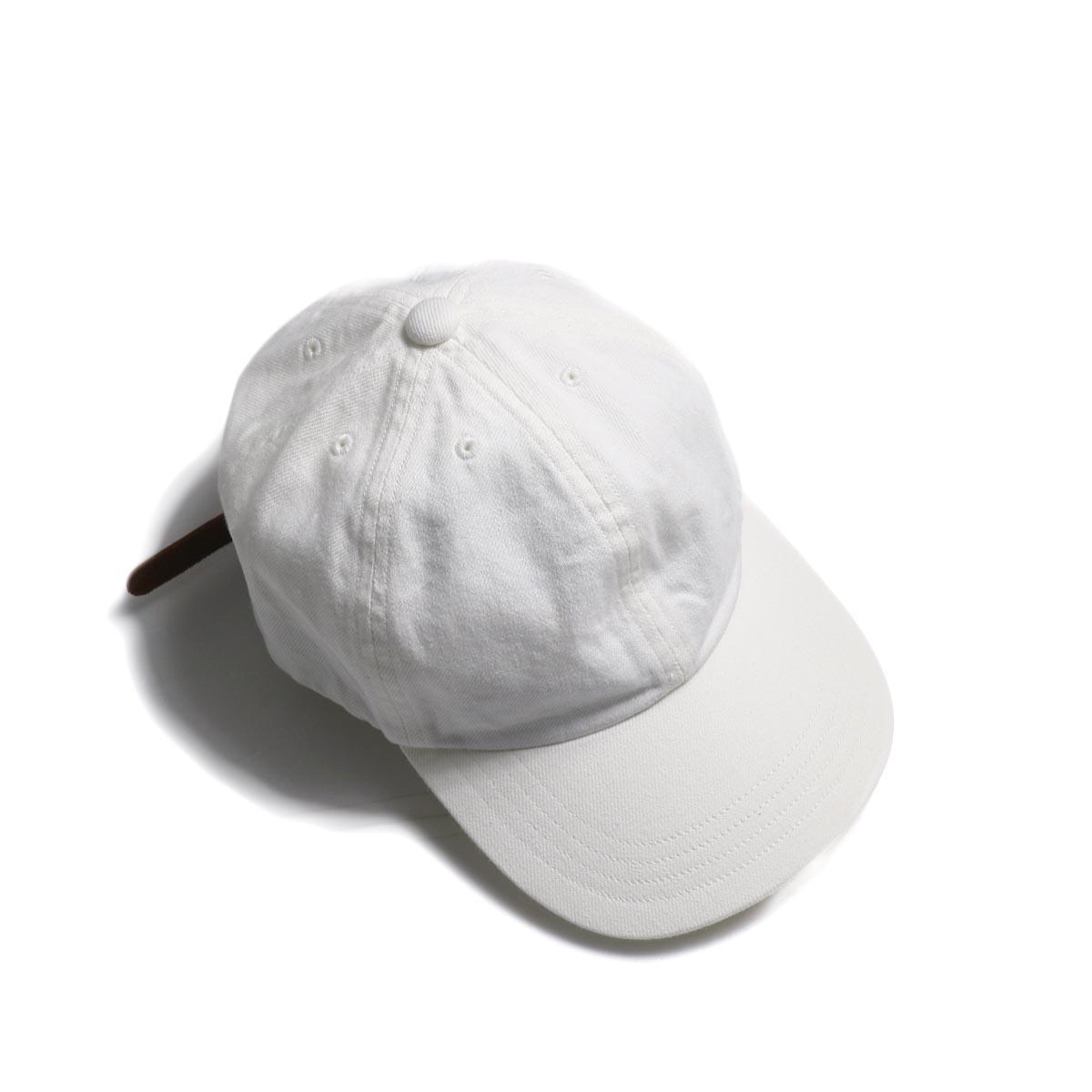 COMESANDGOES / Denim Cap (NO.14519) White