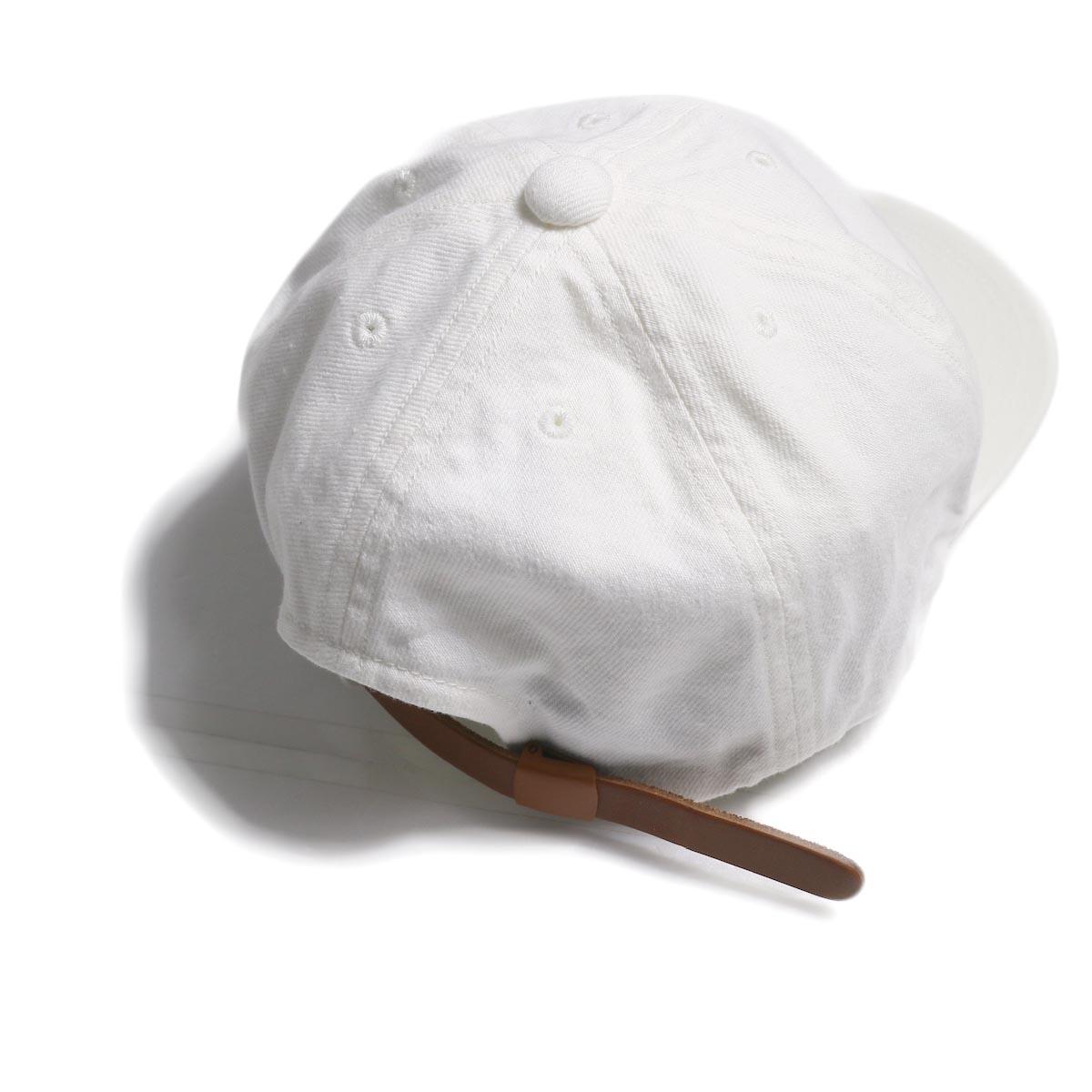 COMESANDGOES / Denim Cap (NO.14519) White アジャスター