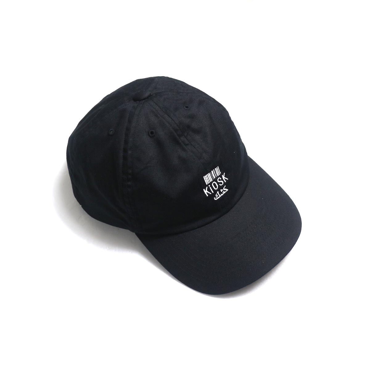COMESANDGOES / Embroidery Cap (NO.14520) black