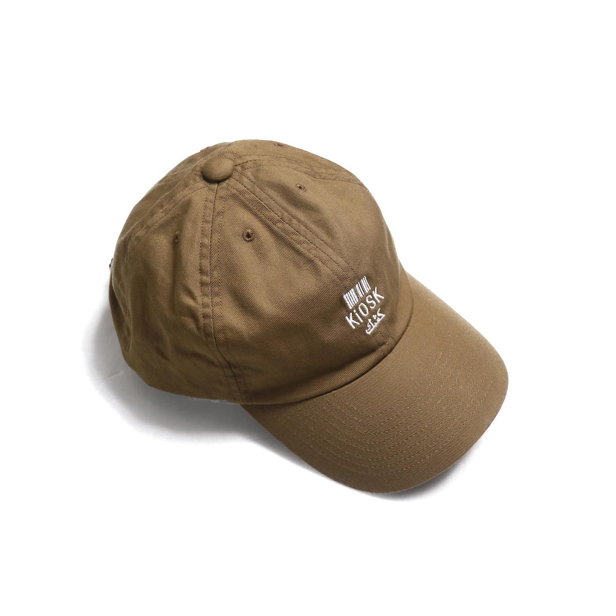COMESANDGOES / Embroidery Cap (NO.14520) brown