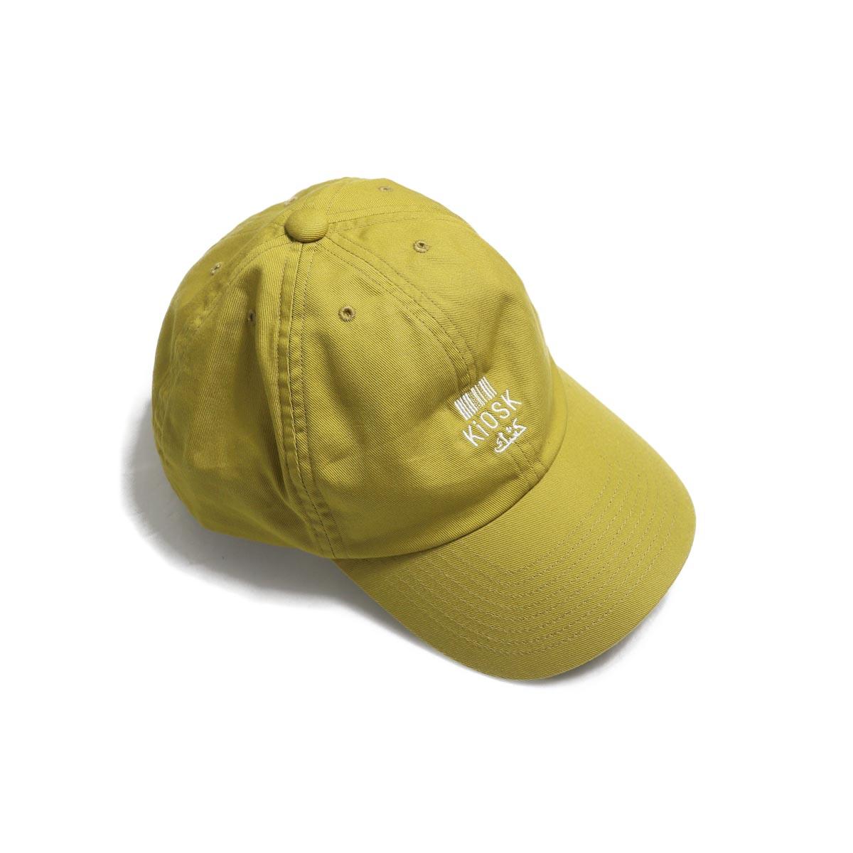 COMESANDGOES / Embroidery Cap (NO.14520) mustard