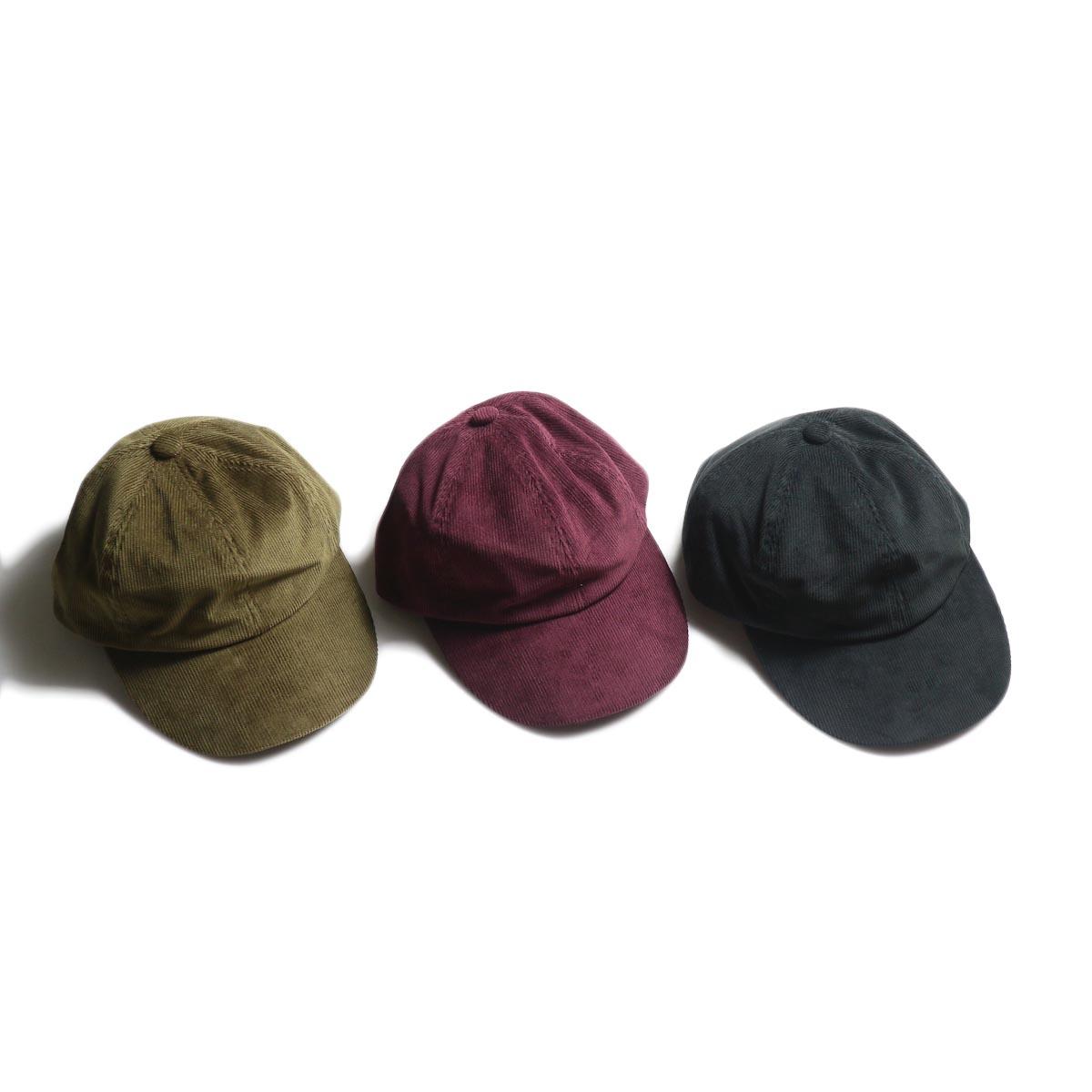 COMESANDGOES / corduroy cap (NO.15559)