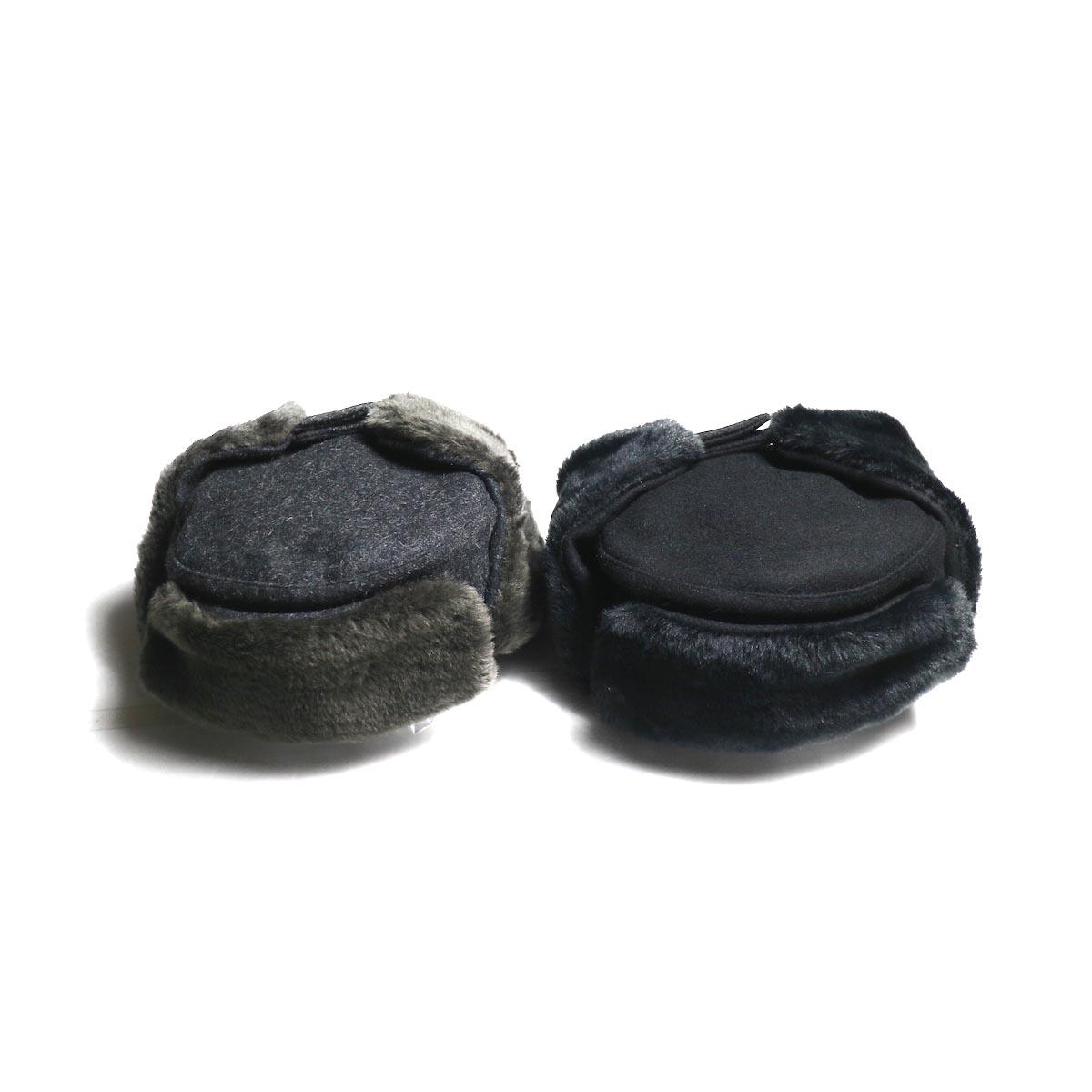COMESANDGOES / Melton&Fur Ear Cap