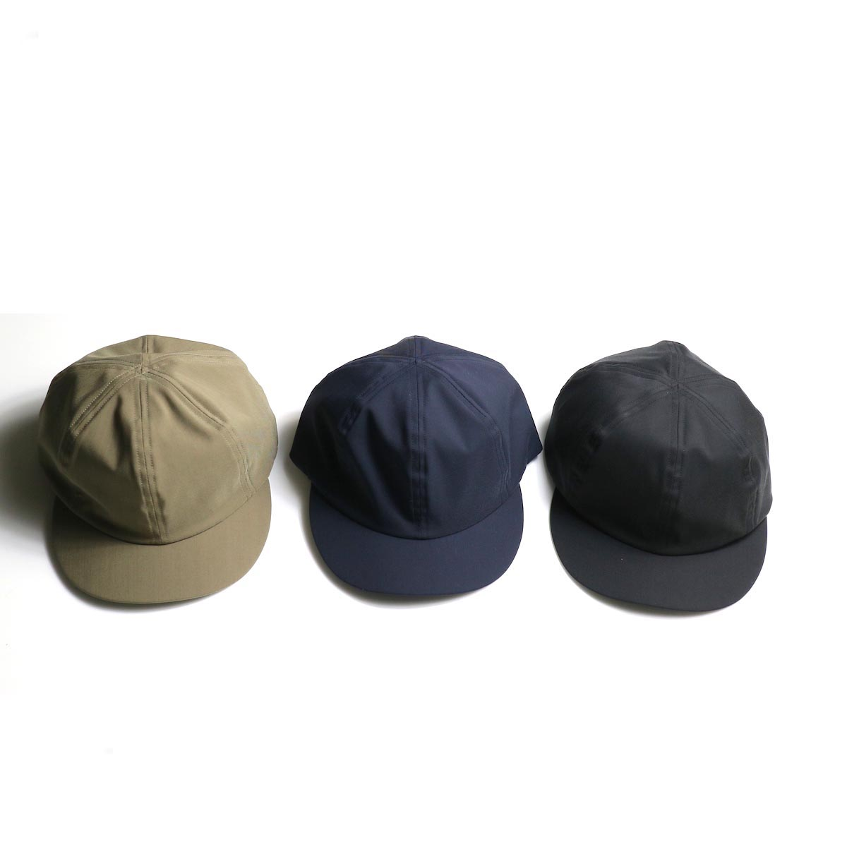 COMESANDGOES / Short Brim Cap2 (Wool&Polyester) (No.16586)