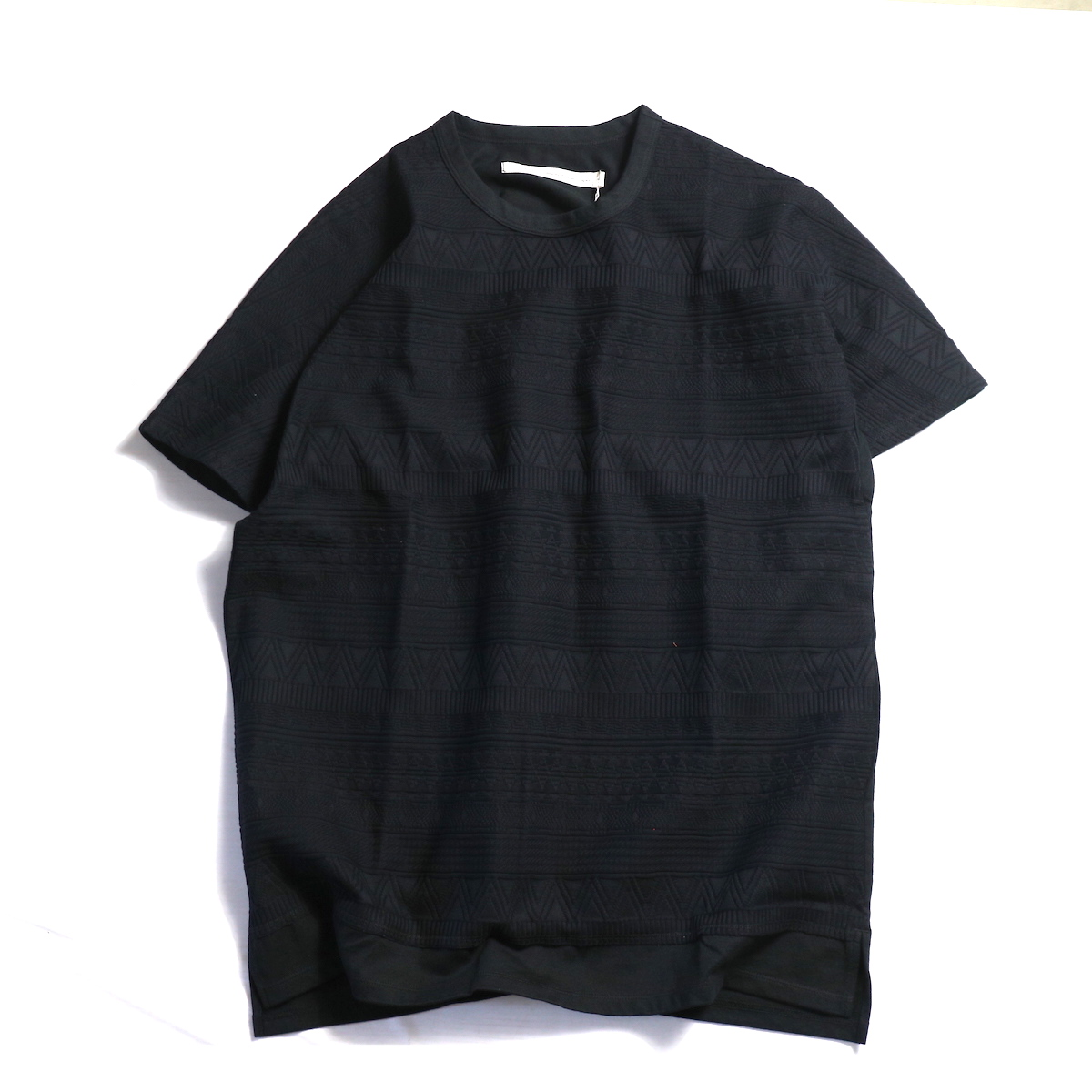 CURLY / AZTEC JAQ DS TEE -Black