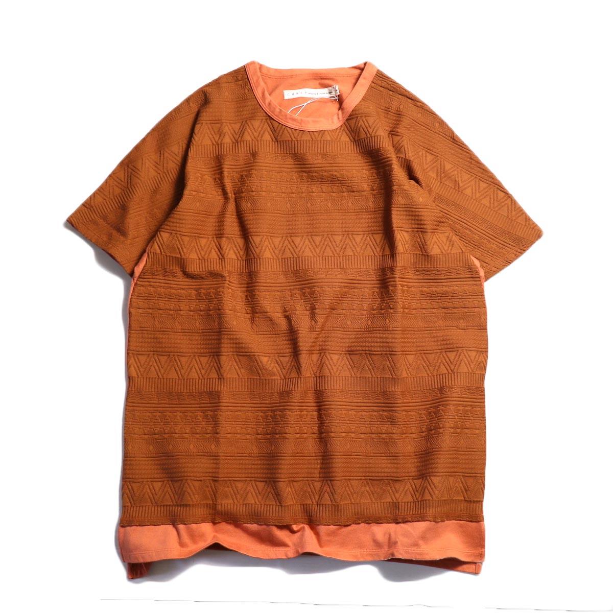 CURLY / AZTEC JAQ DS TEE -Orange