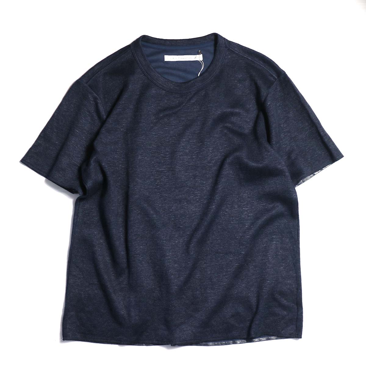 CURLY / ACCURATE HS TEE -Navy