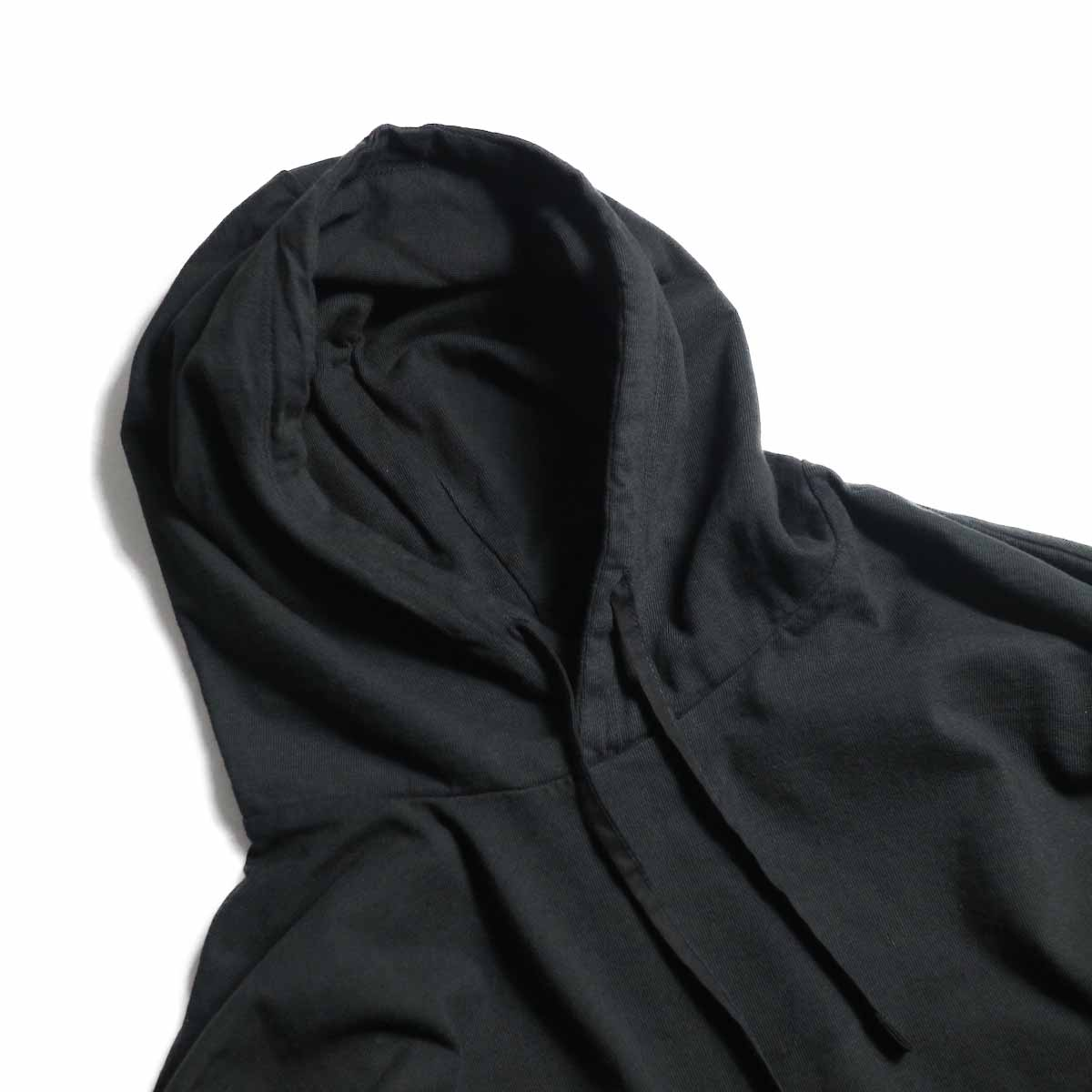 CURLY / Frosted LS Parka -Black フード