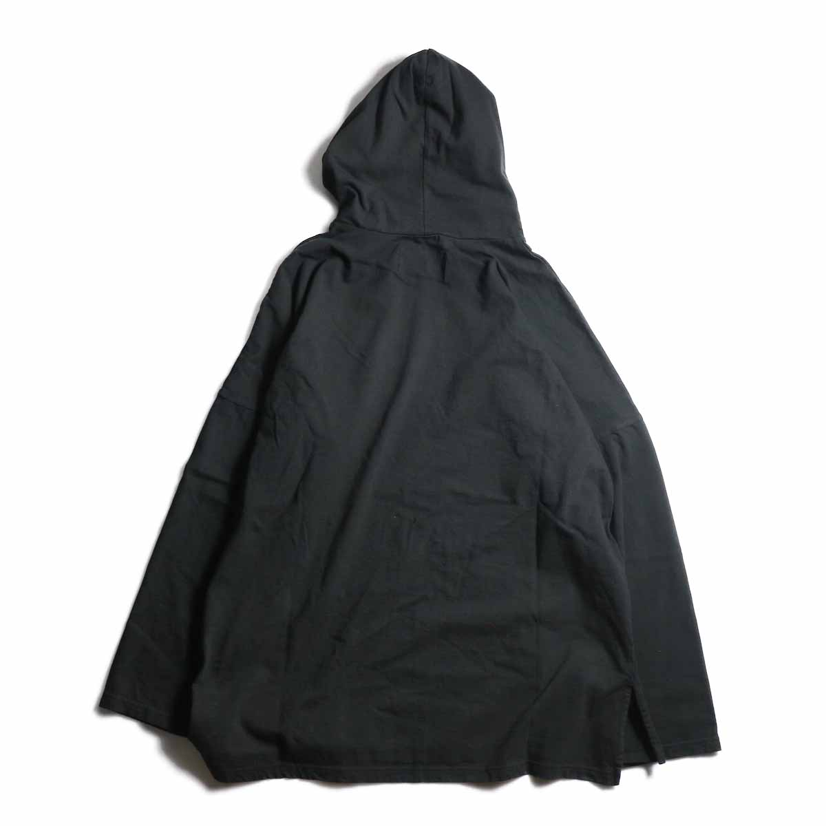 CURLY / Frosted LS Parka -Black 背面
