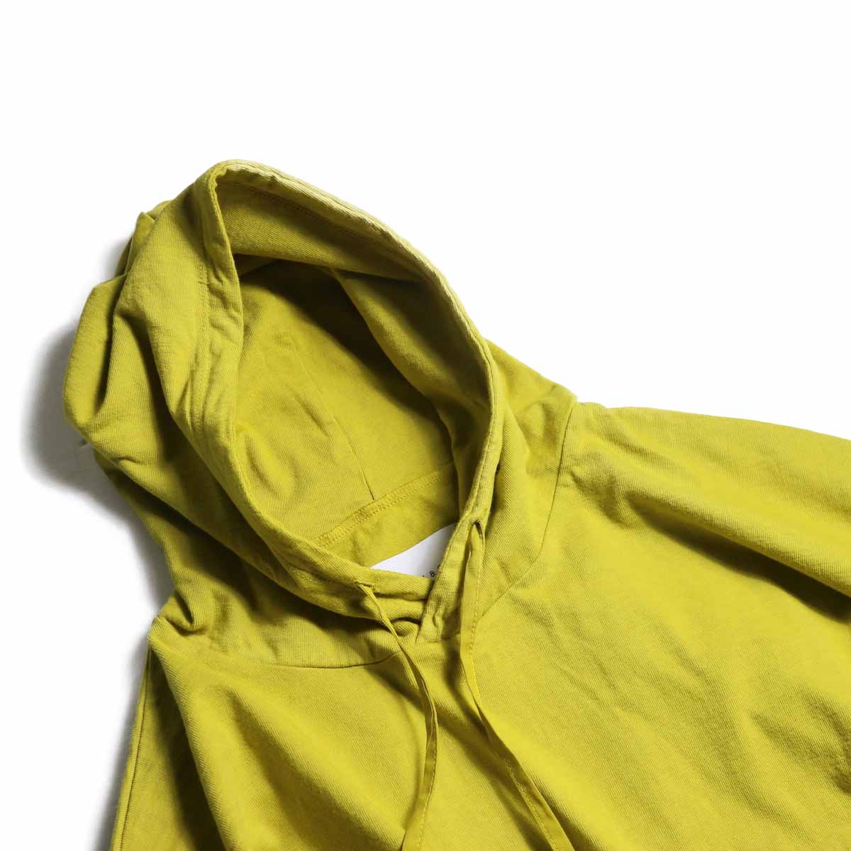CURLY / Frosted LS Parka -Saffron Yellow フード
