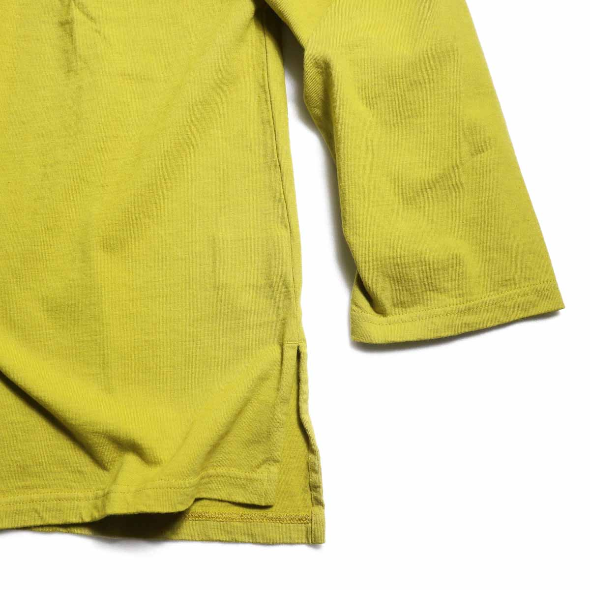 CURLY / Frosted LS Parka -Saffron Yellow 裾
