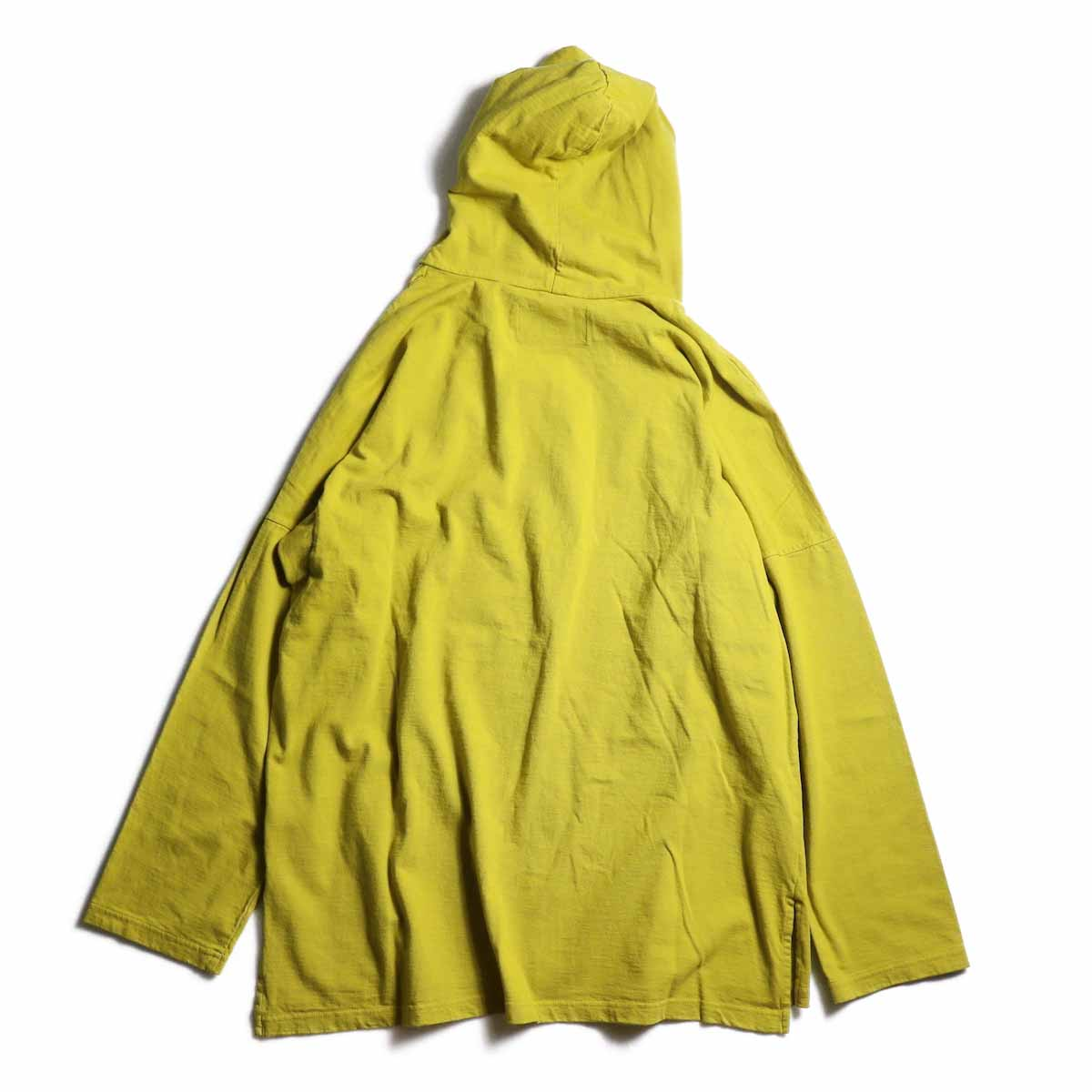 CURLY / Frosted LS Parka -Saffron Yellow 背面