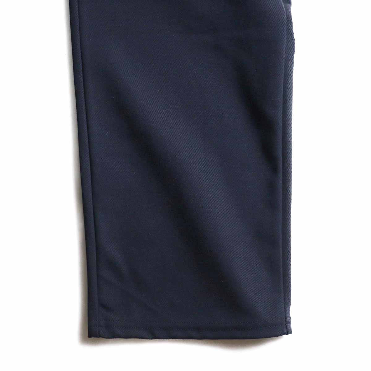 CURLY / Track Trousers -Navy 裾