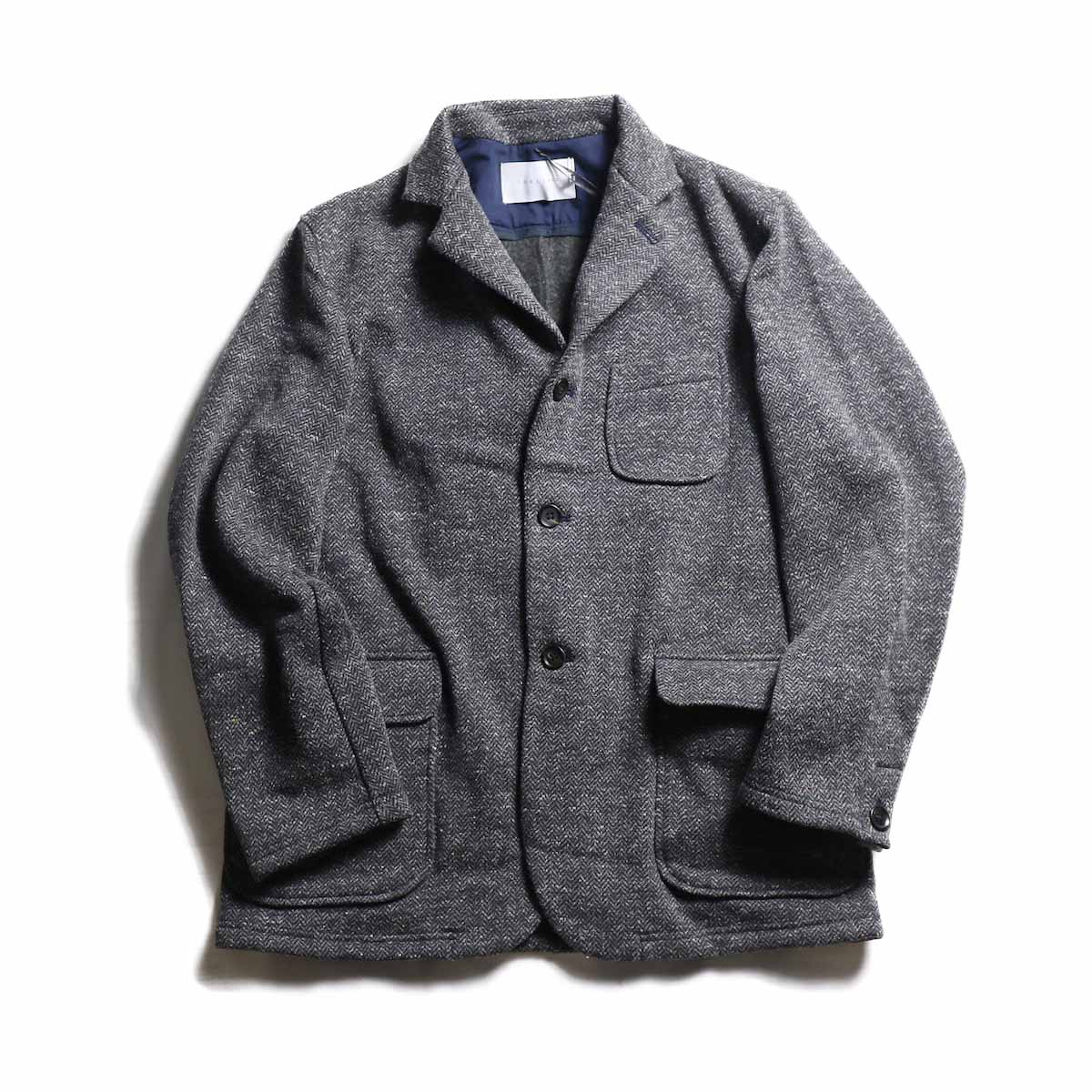 CURLY / Bleecker HB Jacket -NAVY HB