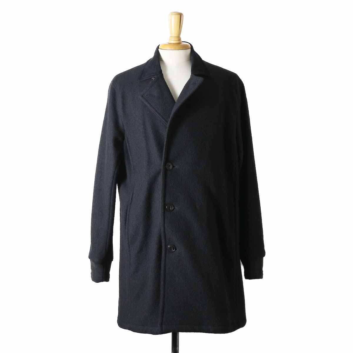CURLY / Frosted Coat -BLACK