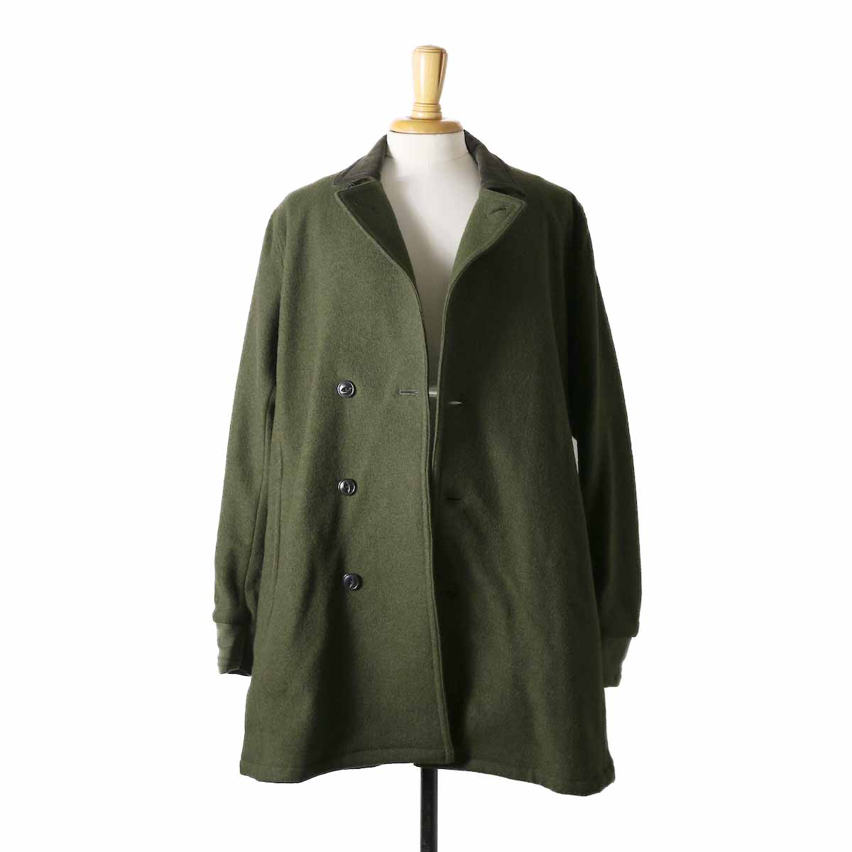 CURLY / Frosted Coat -OLIVE