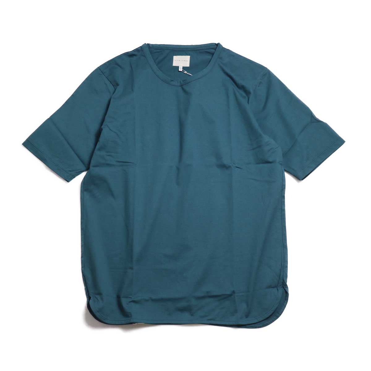 CURLY / SDH HS CN TEE -INK GREEN 正面