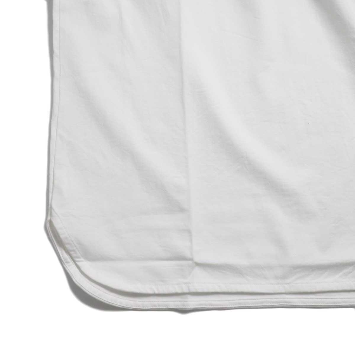 CURLY / SDH HS CN TEE -White 裾
