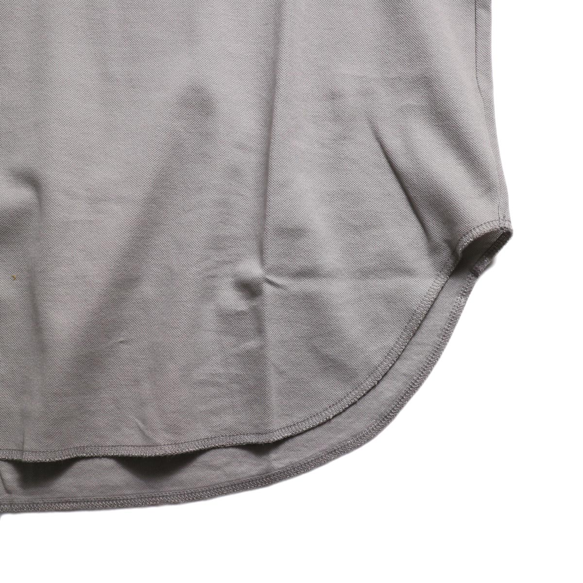 CURLY / AZTEC TANK -Lt.Gray 裾