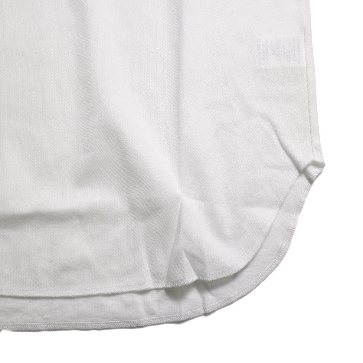 CURLY / AZTEC TANK -White 裾