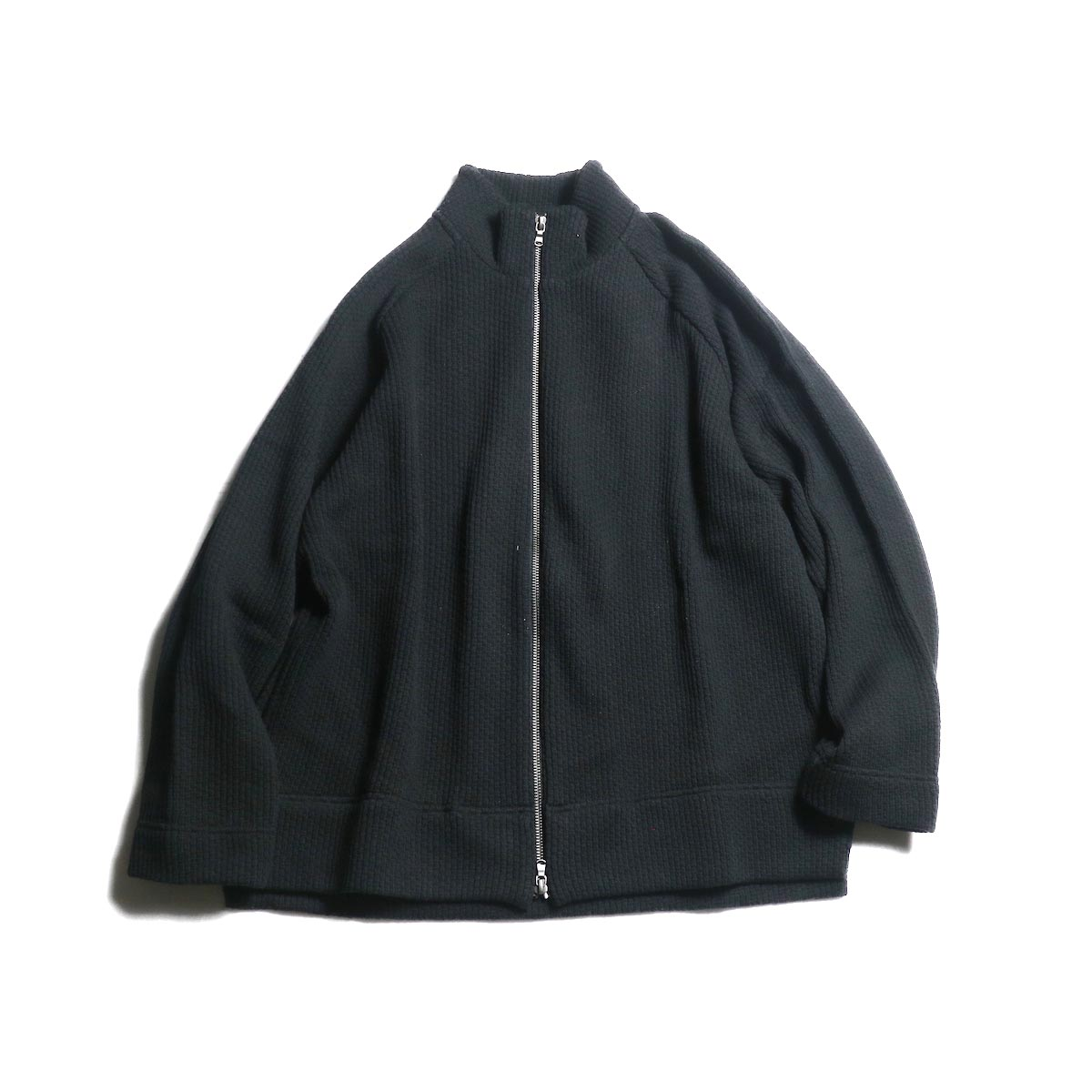 CURLY / CLOUDY FZ SWEATER (Black)