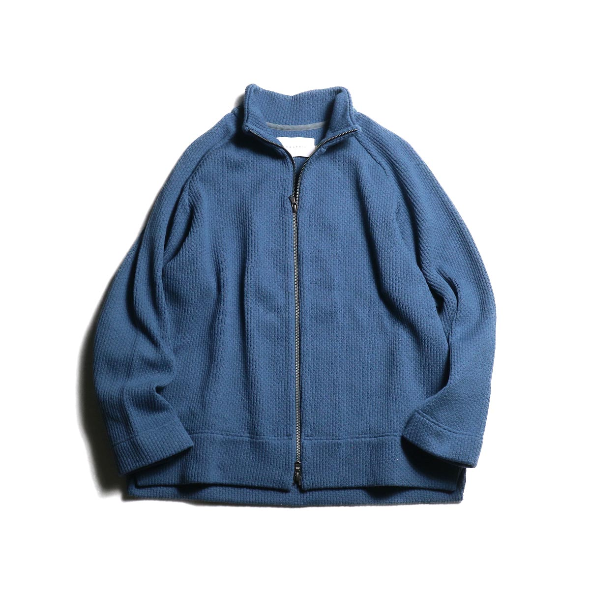 CURLY / CLOUDY FZ SWEATER (Blue Gray)