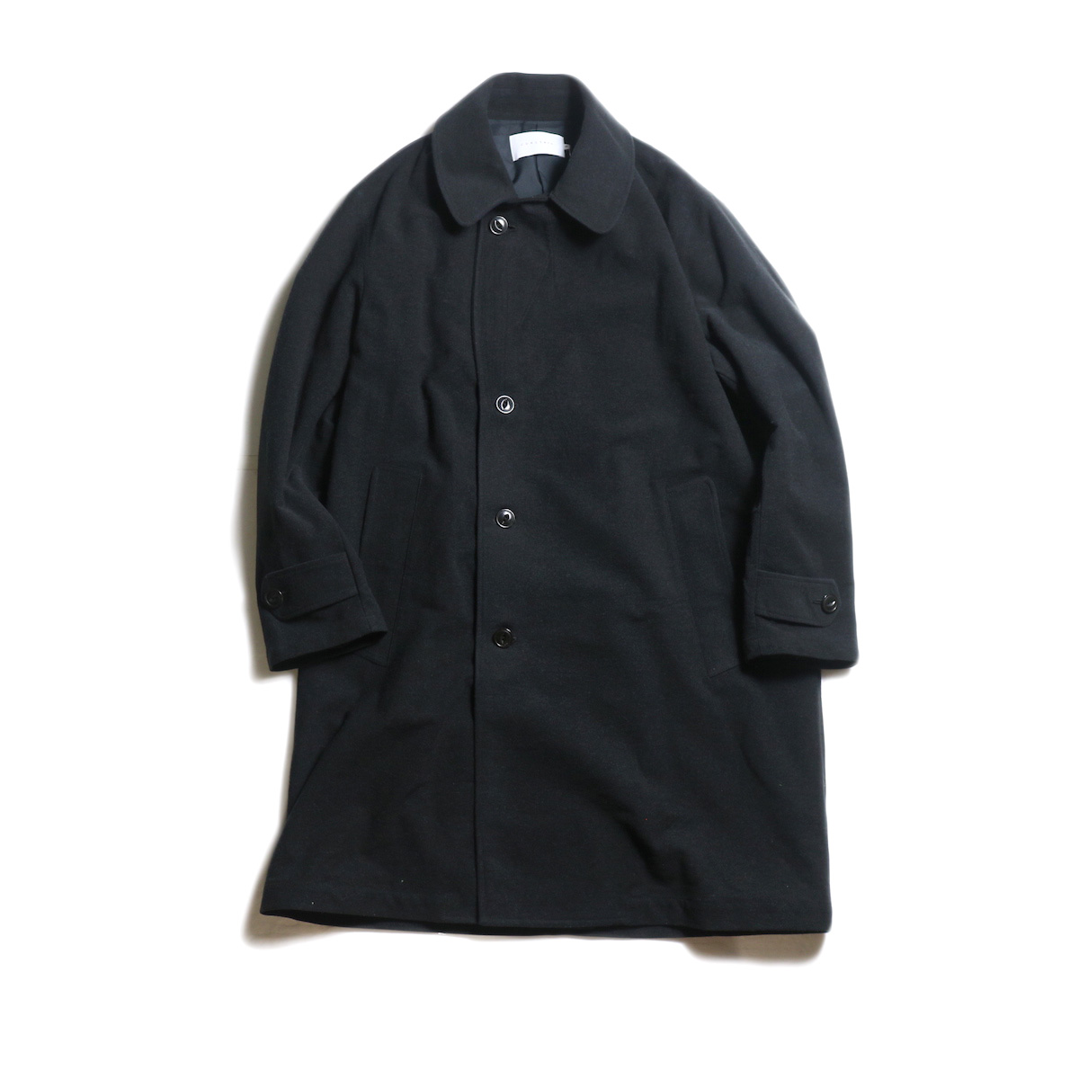 CURLY / PRESTON COAT (Black)