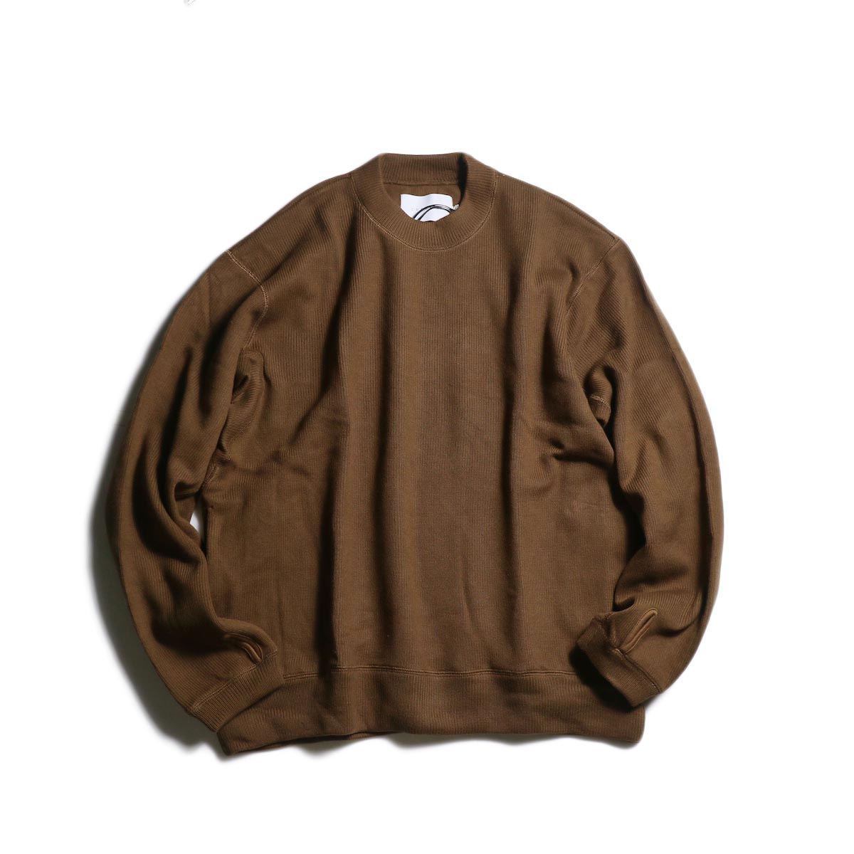 CURLY / LUMPY SWEATER (Brown)