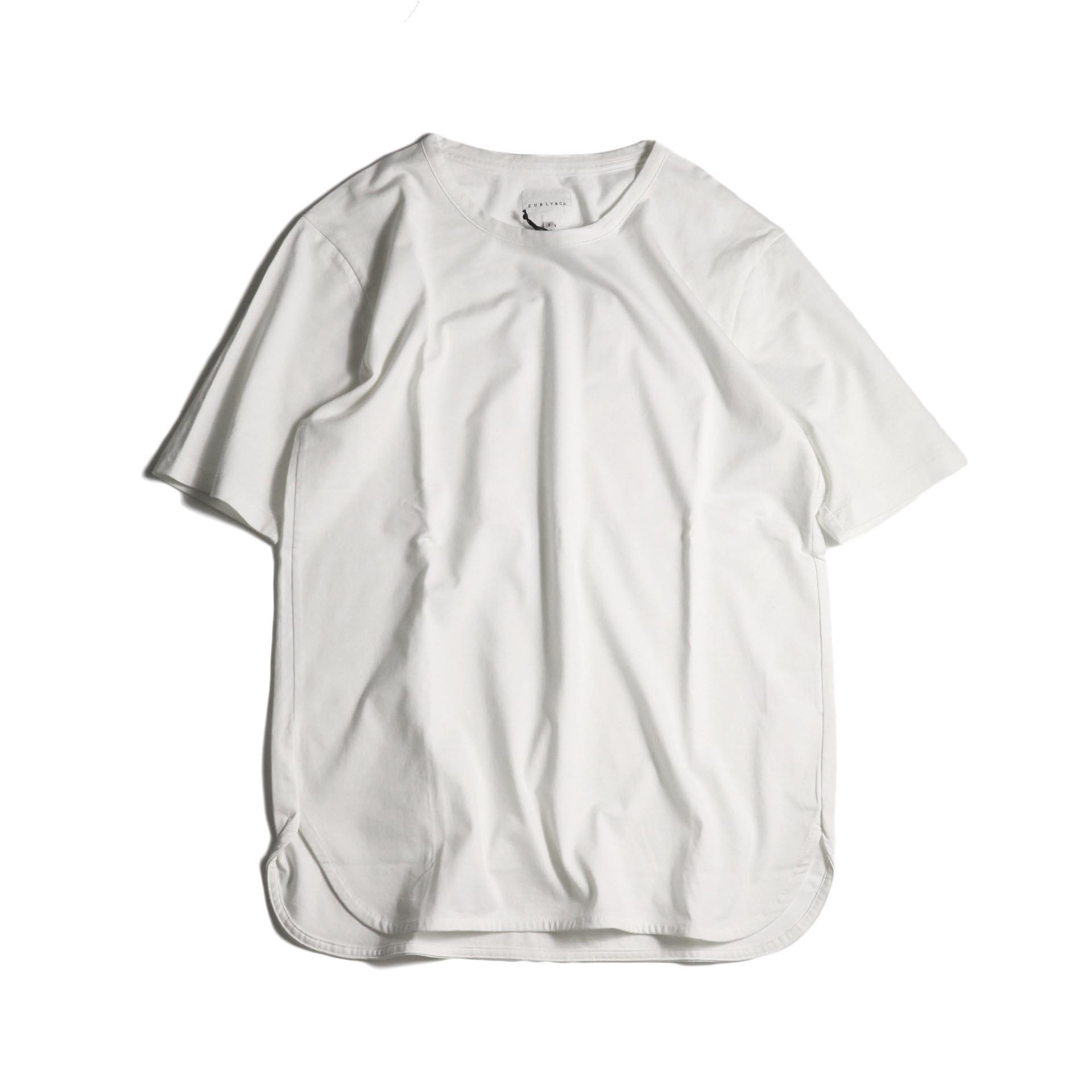 CURLY / SDH HS CN TEE (White)