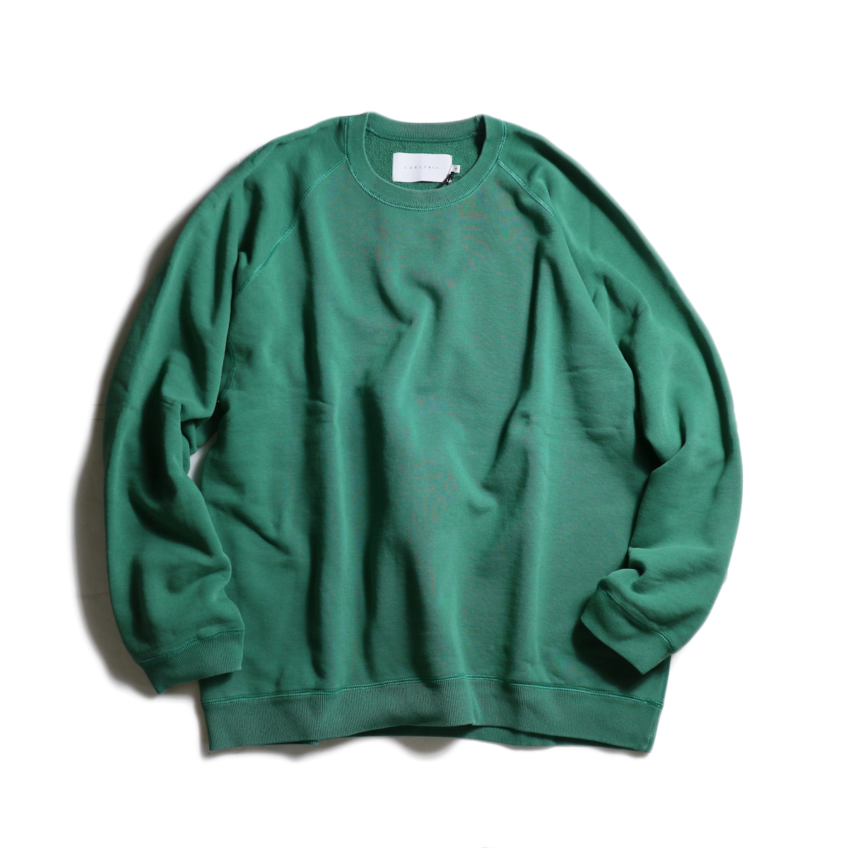 CURLY / FROSTED CREW SWEAT (Green)