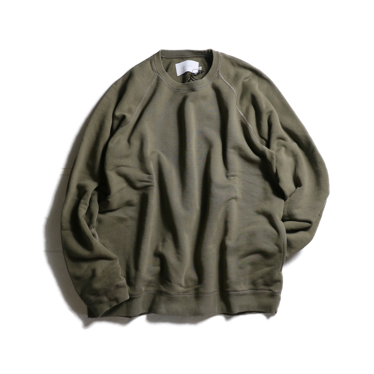 CURLY / FROSTED CREW SWEAT (Grage)