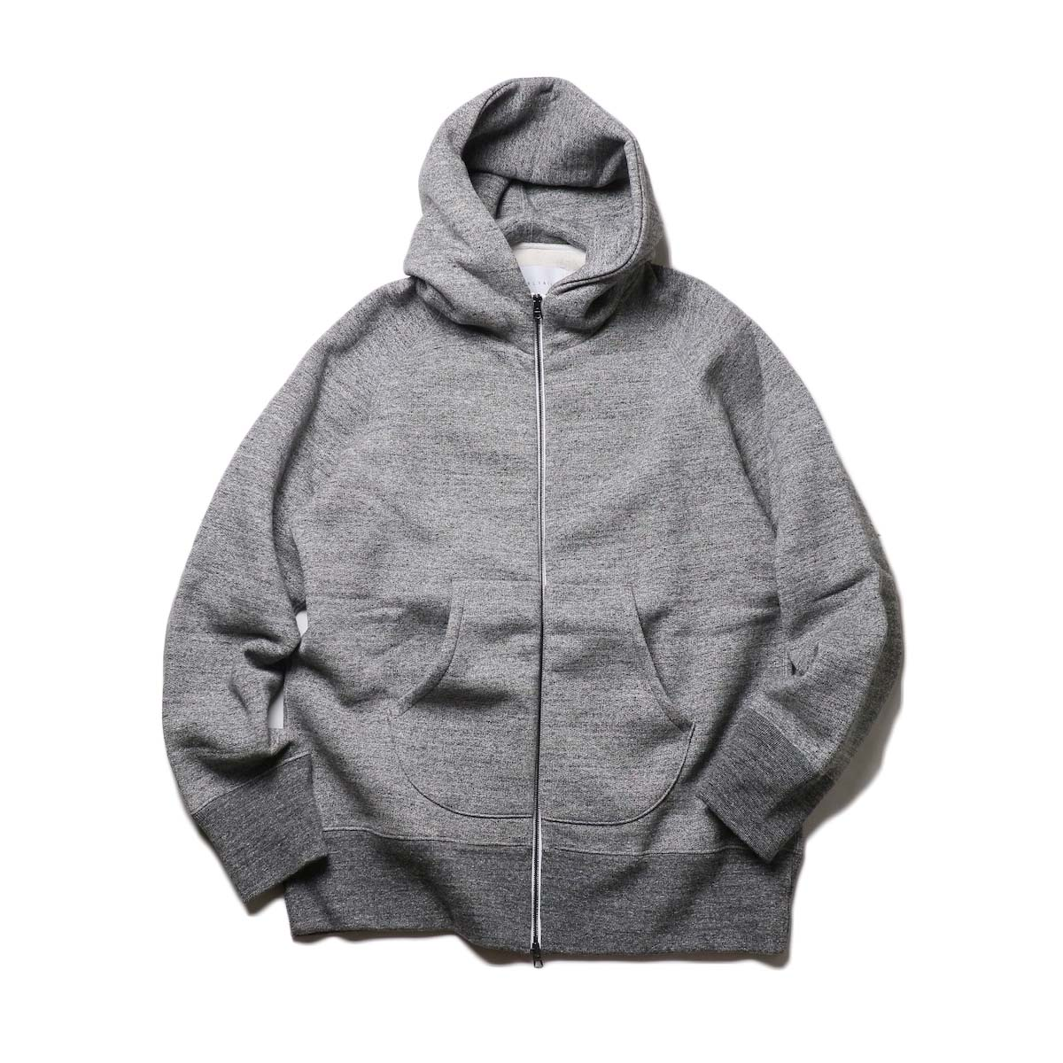 CURLY / 203-33092R RAFFY ZIP PARKA (Charcoal)