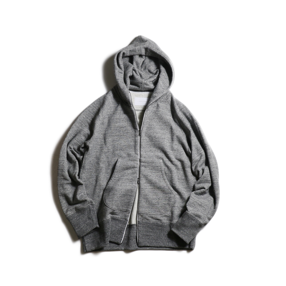 CURLY / RAFFY ZIP PARKA (Charcoal)