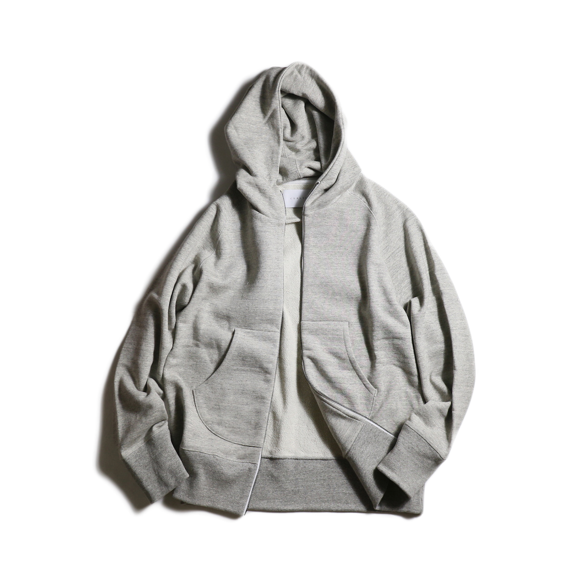 CURLY / RAFFY ZIP PARKA (Gray)