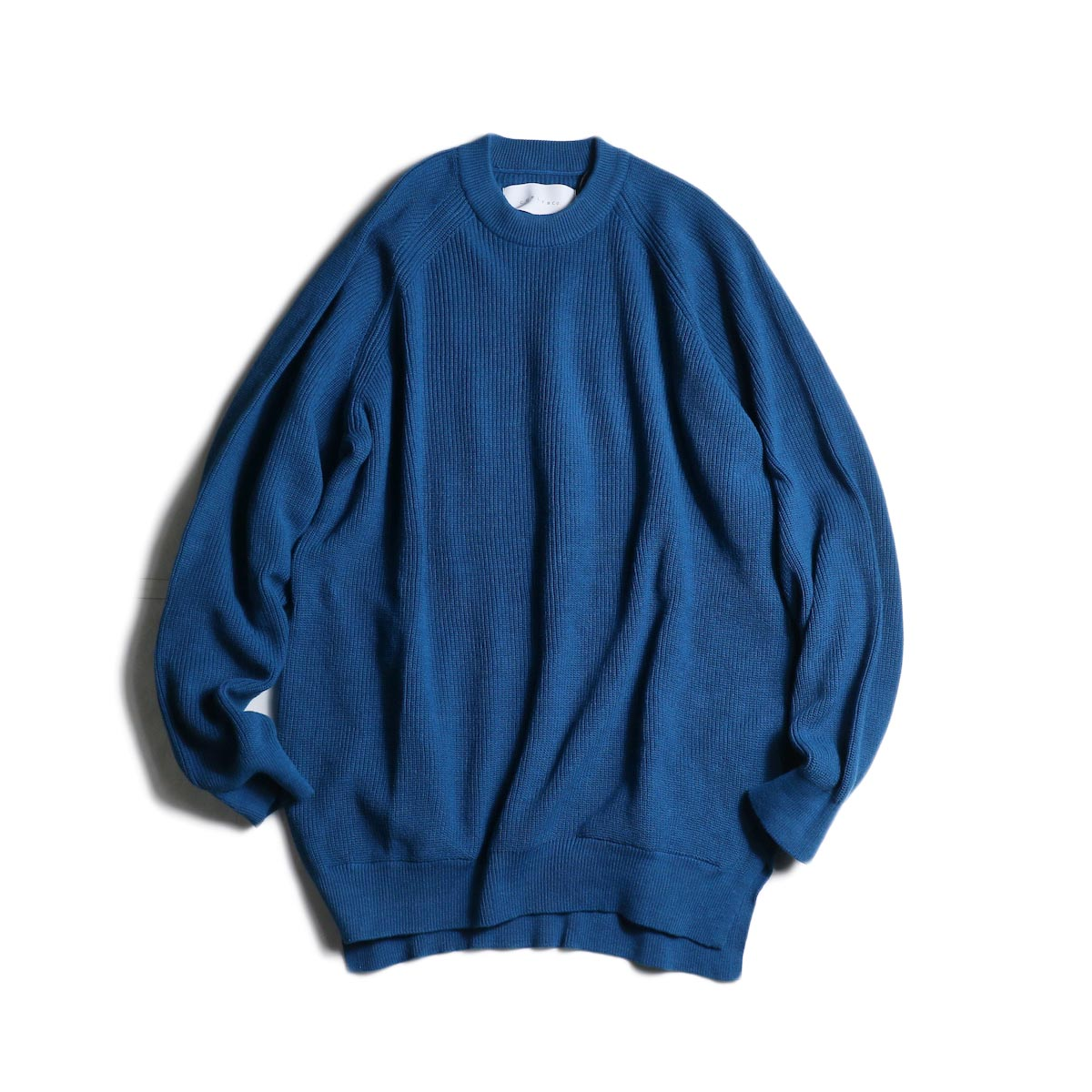 CURLY / ASSEMBLY CREW KNIT (Bondi Blue)