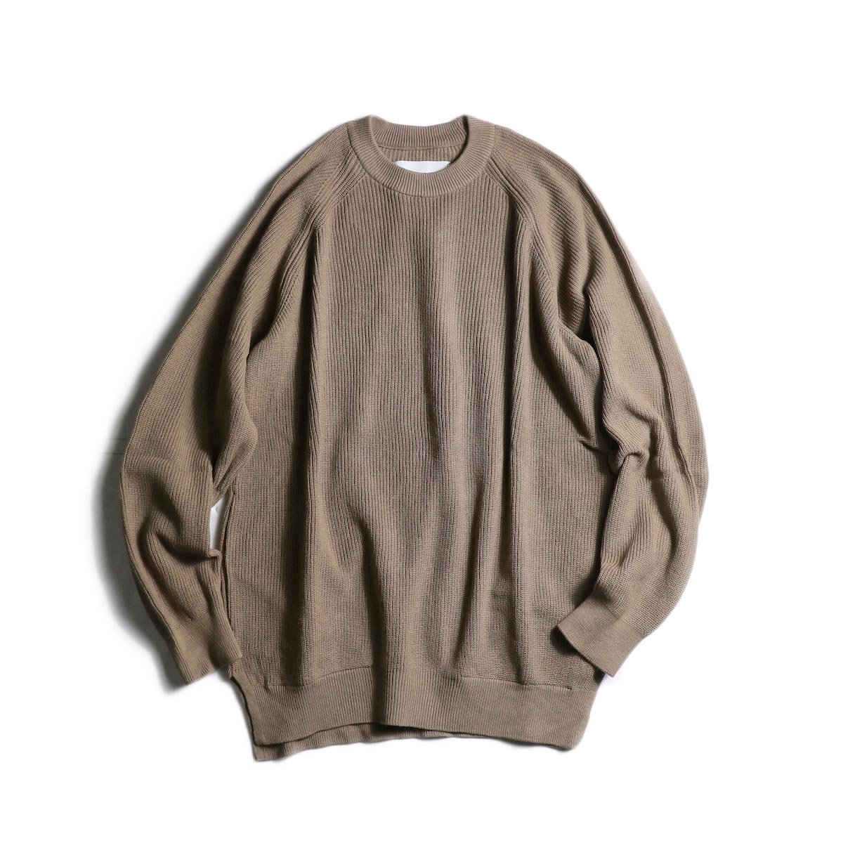 CURLY / ASSEMBLY CREW KNIT (Grege)