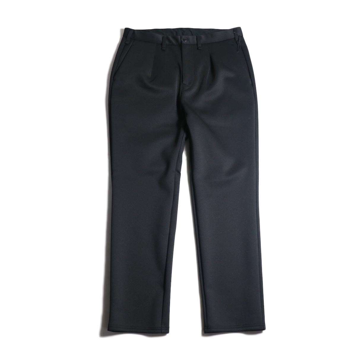 "CURLY / TRACK TROUSERS ""Plain"" (Black)"