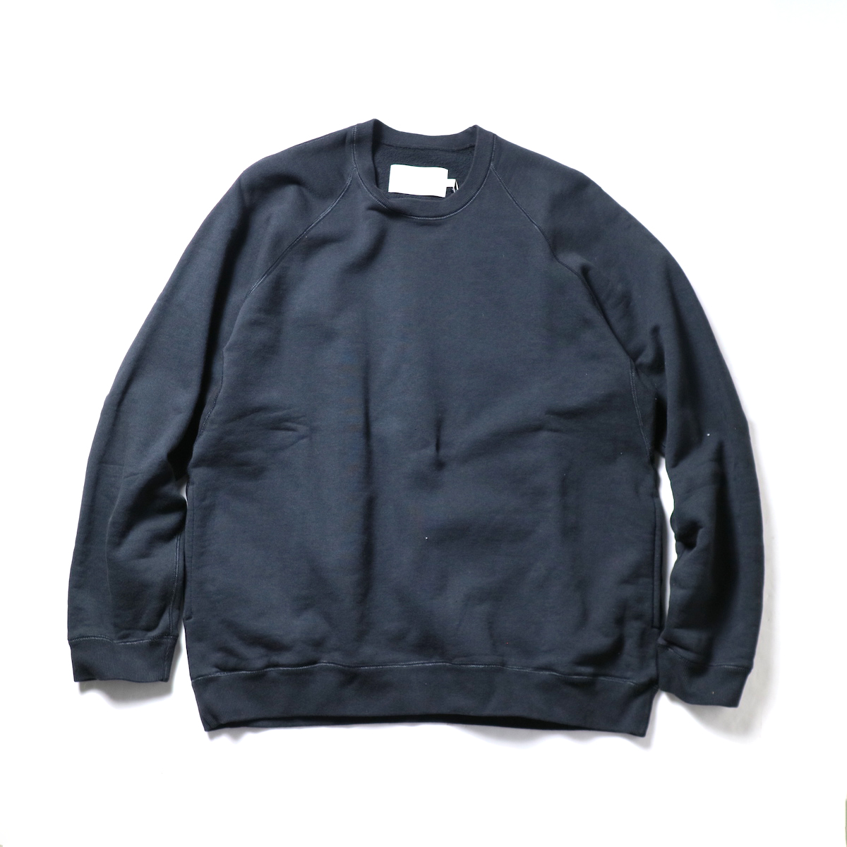 CURLY / FROSTED CREW SWEAT (D.Navy)正面