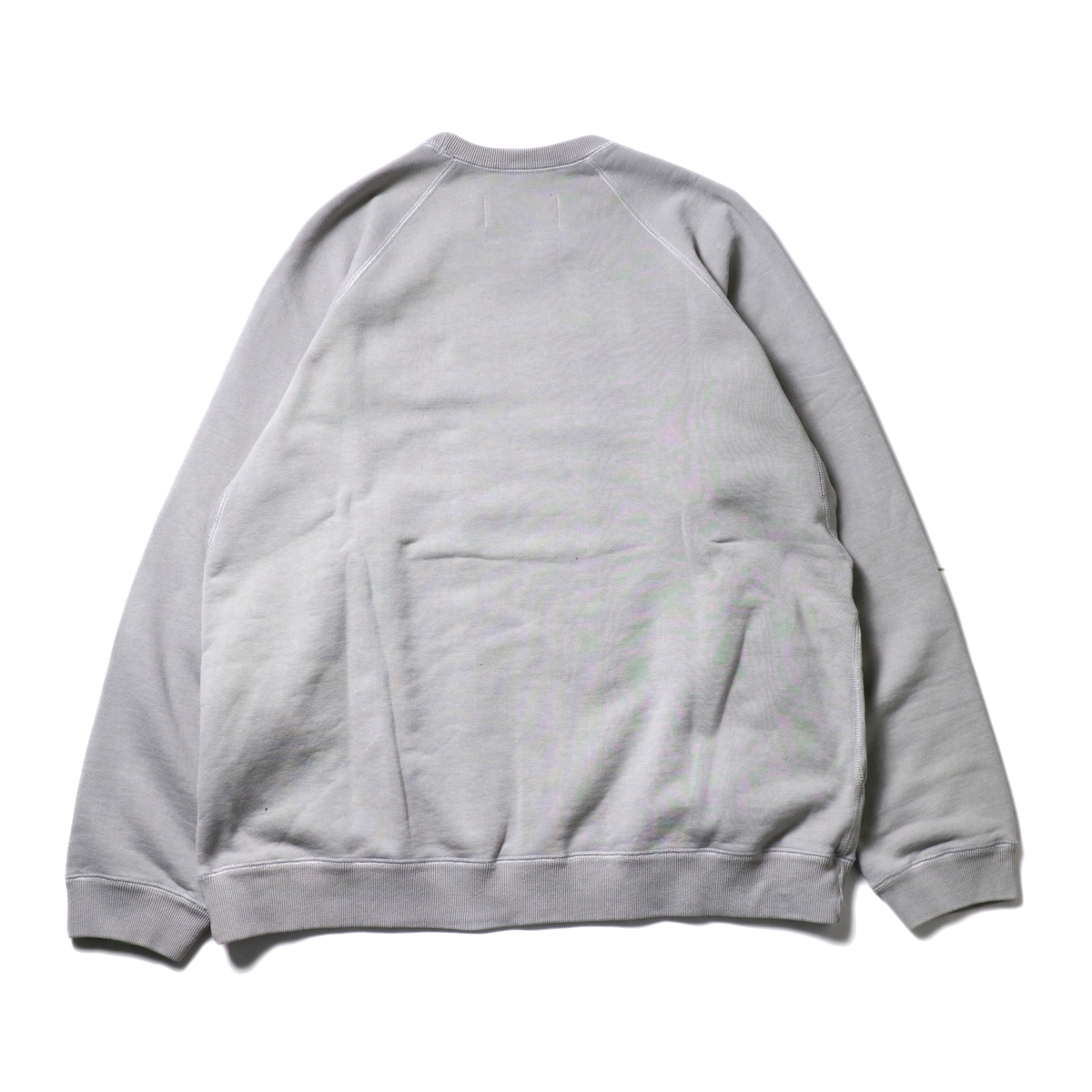 CURLY / FROSTED CREW SWEAT (LT.Gray)背面