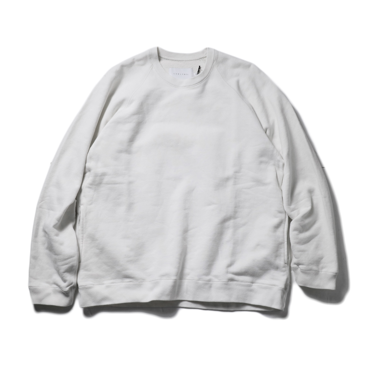 CURLY / FROSTED CREW SWEAT (Off White)