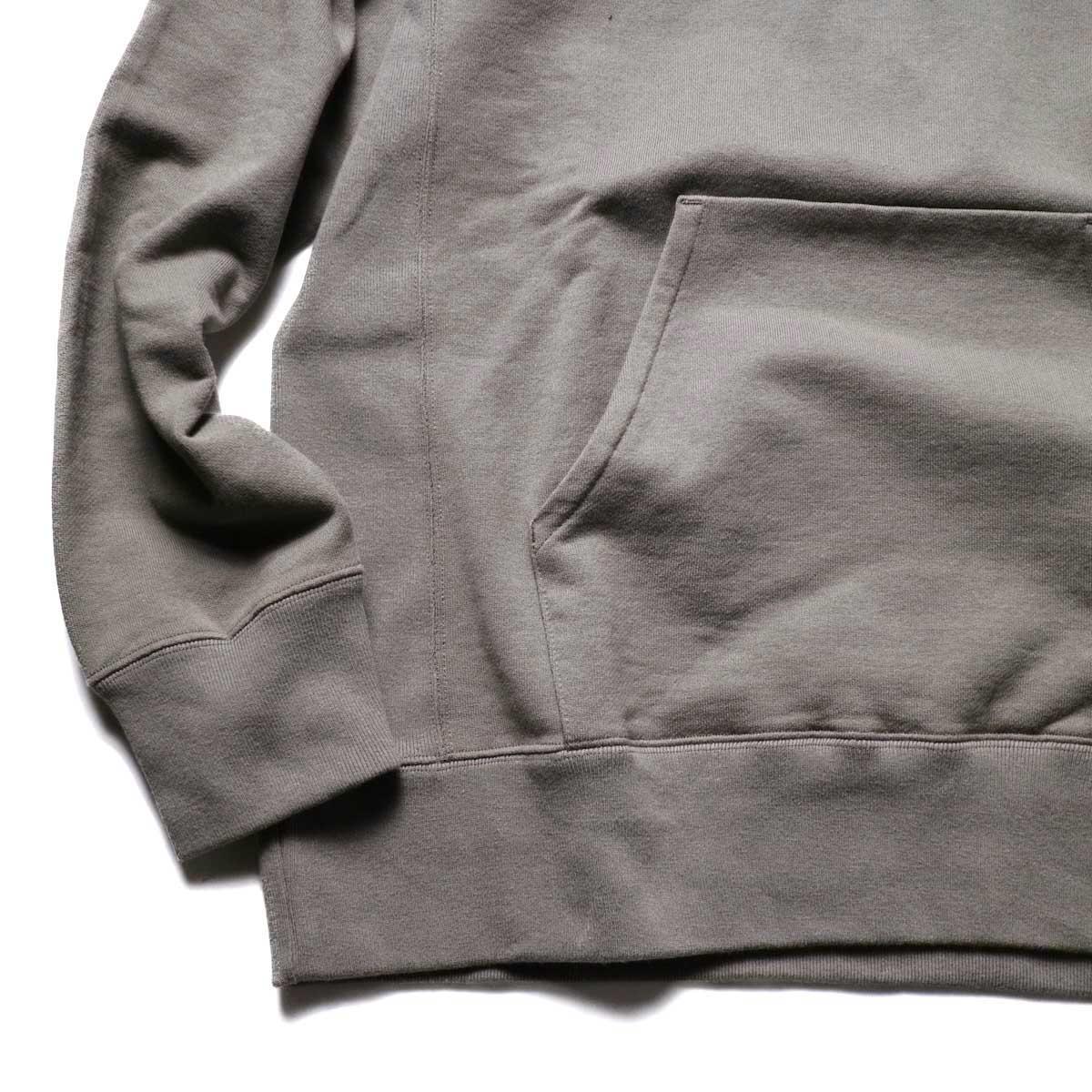 CURLY / BRIGHT PO PARKA (Mocha)袖、裾