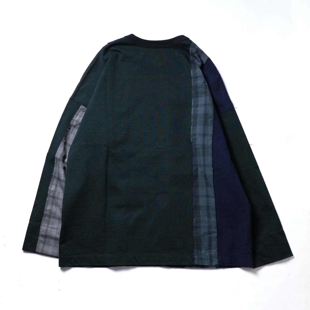 CURLY / ANCOATS L/S TEE (Black)背面