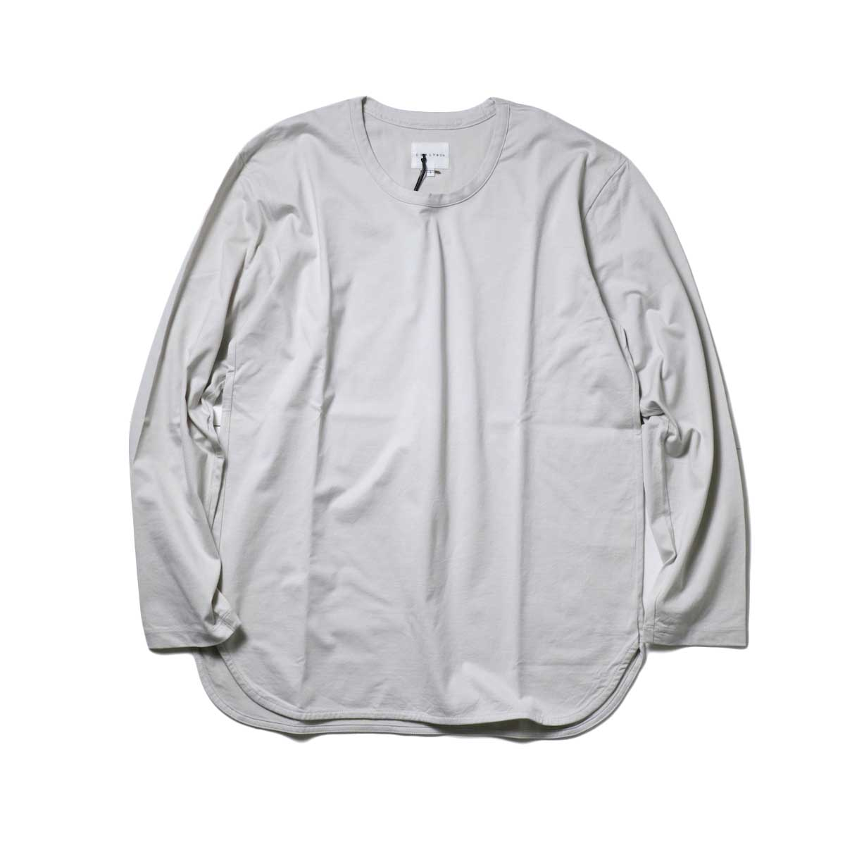 CURLY / SDH L/S CN TEE (Sand Gray)