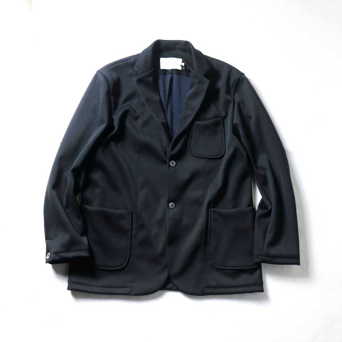 CURLY / TRACK JACKET (Black)正面