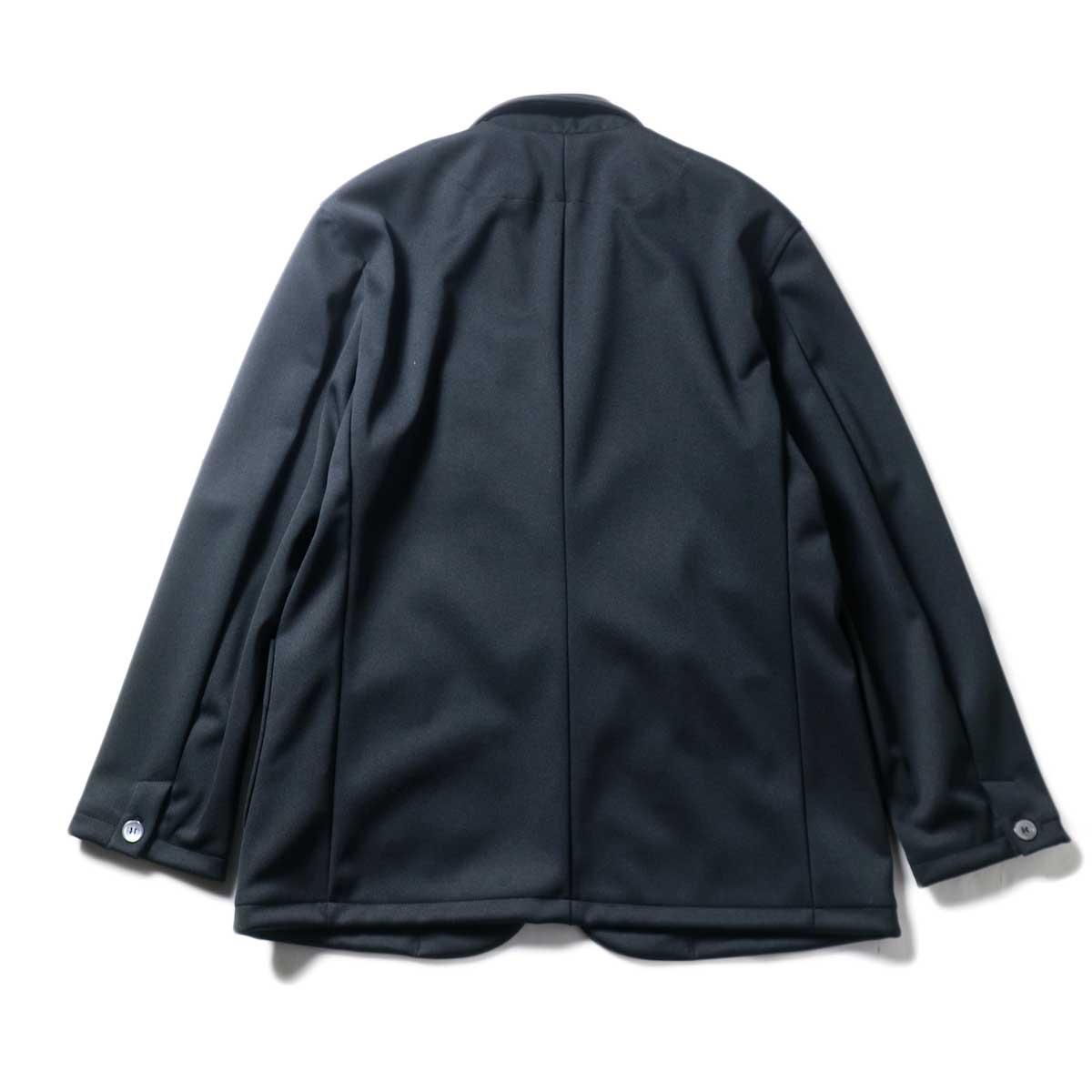 CURLY / TRACK JACKET (Black)背面