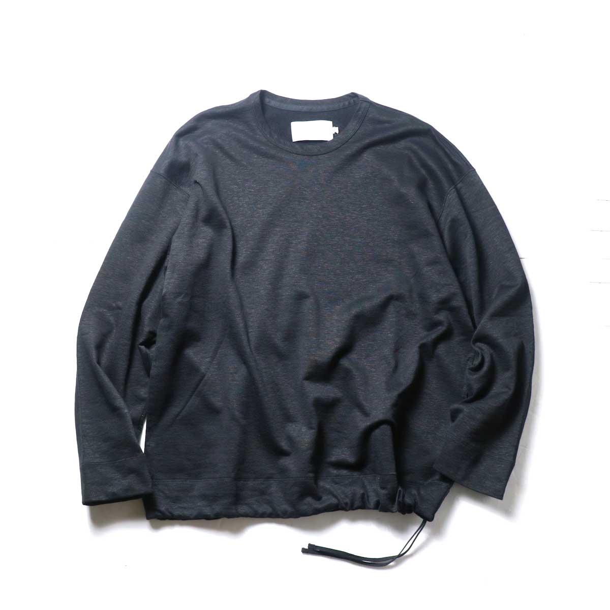 CURLY / CLOUDY CREW SWEAT (Black)