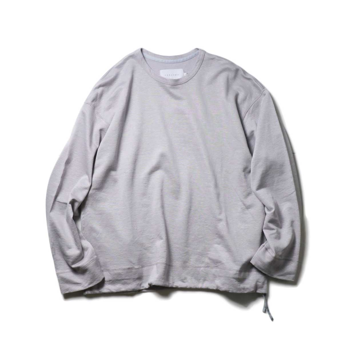 CURLY / CLOUDY CREW SWEAT (Lt.Gray)